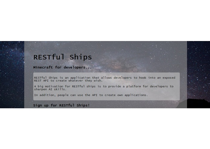 RESTful Ships – screenshot 1