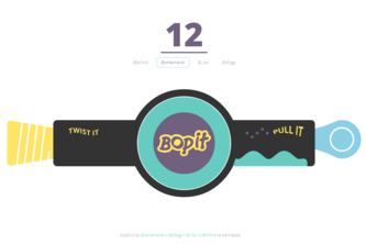 Bop It x Leap Motion