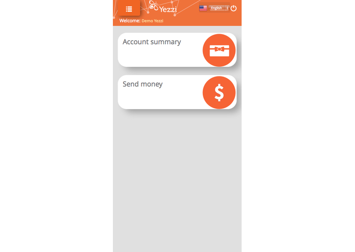 Yezzi. A whole new way to transfer money  – screenshot 2