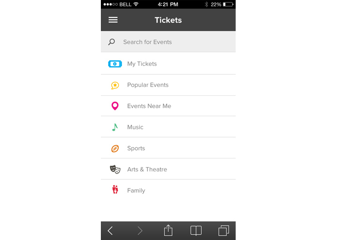 InComm Tickets – screenshot 1