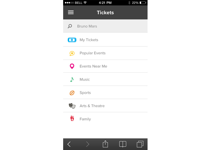 InComm Tickets – screenshot 2