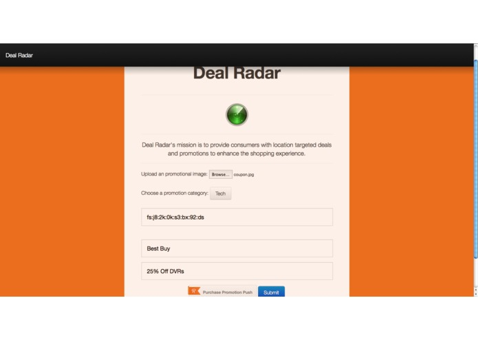 Deal Radar – screenshot 1