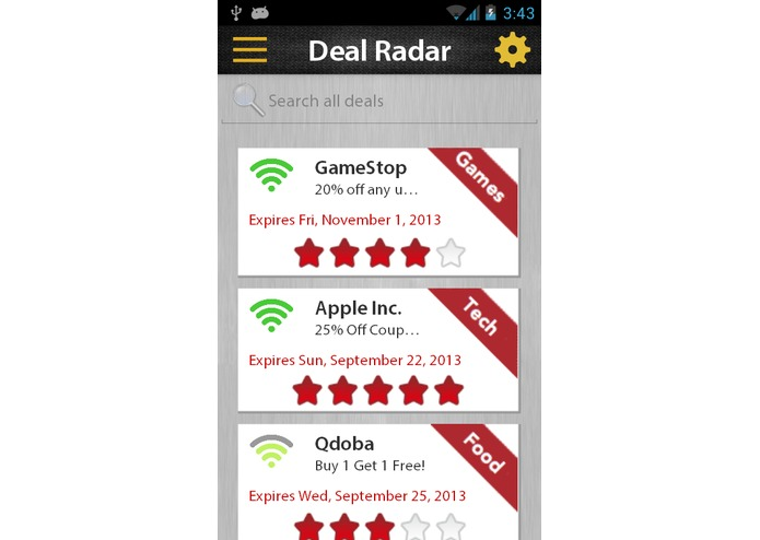 Deal Radar – screenshot 5