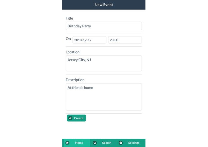 Event Bytes – screenshot 2