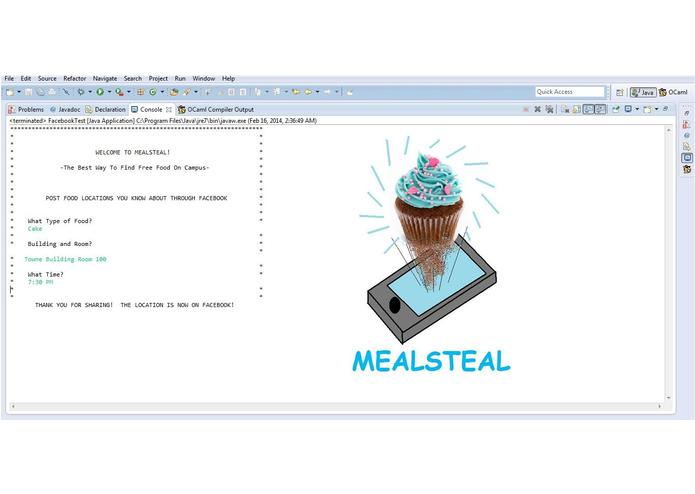 MEALSTEAL – screenshot 1