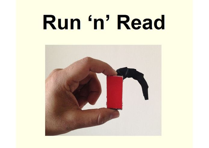 Run 'n' Read – screenshot 1