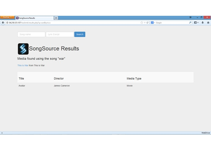 SongSource – screenshot 3