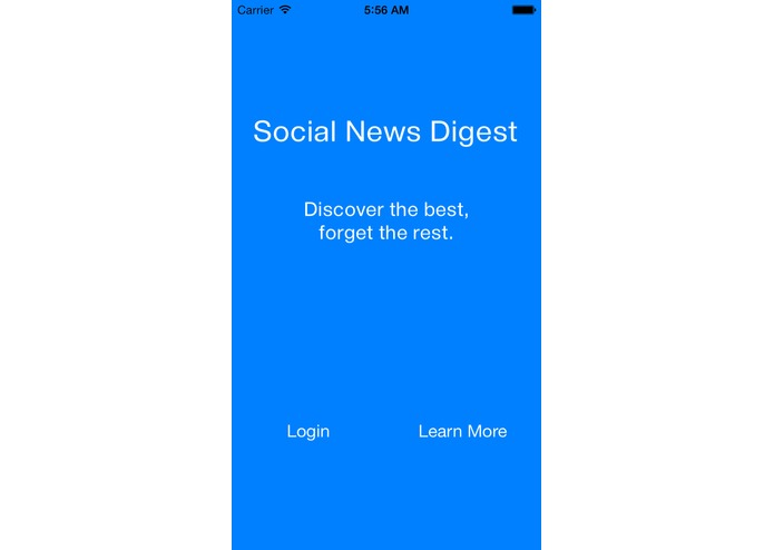 Social News Digest – screenshot 1