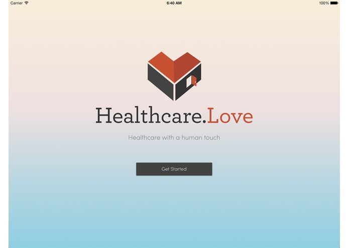 Healthcare.Love – screenshot 1