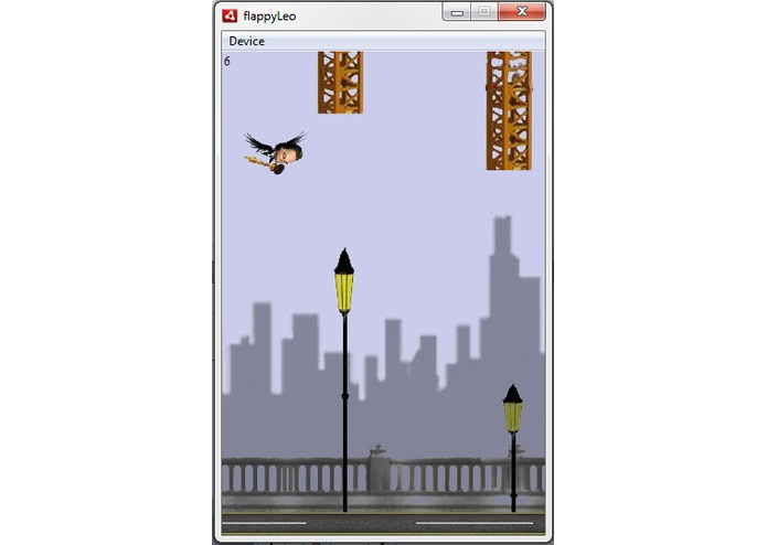 Flappy Leo – screenshot 1
