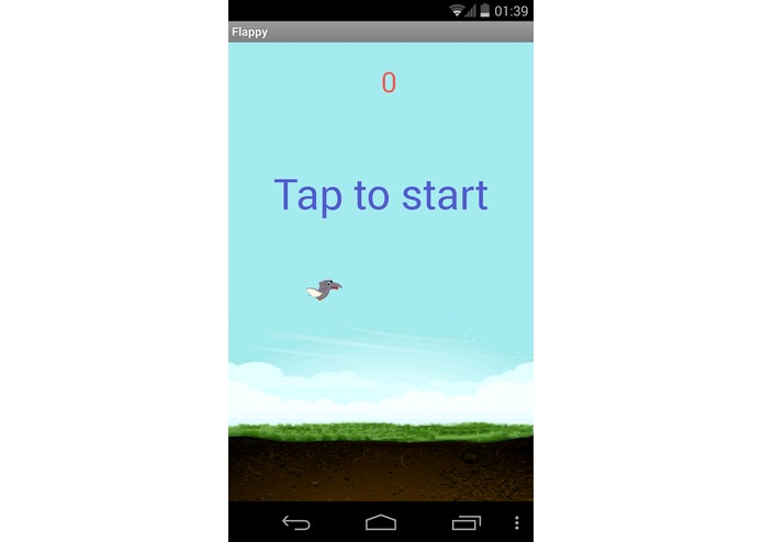 Flappy Dino – screenshot 1