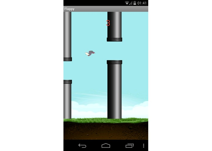 Flappy Dino – screenshot 2