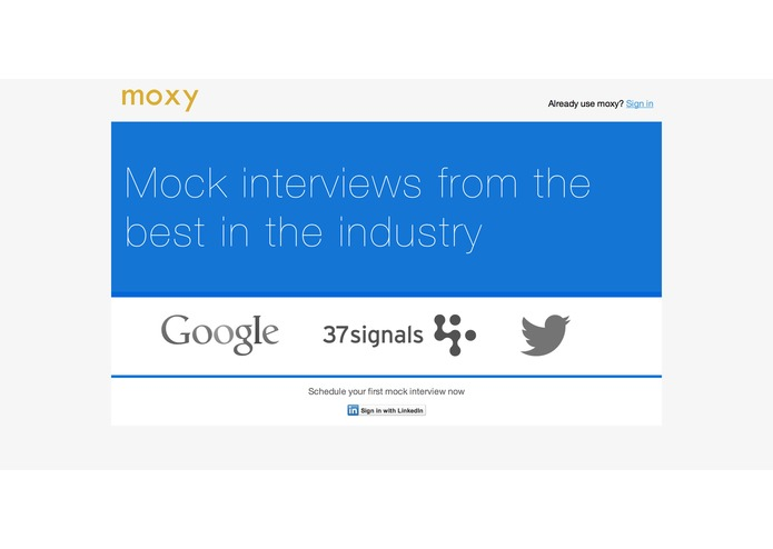moxy – screenshot 1