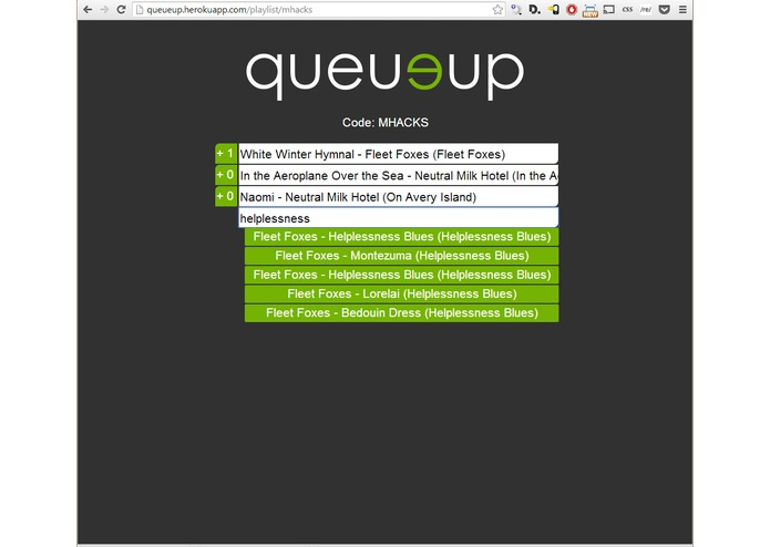 QueueUp – screenshot 1