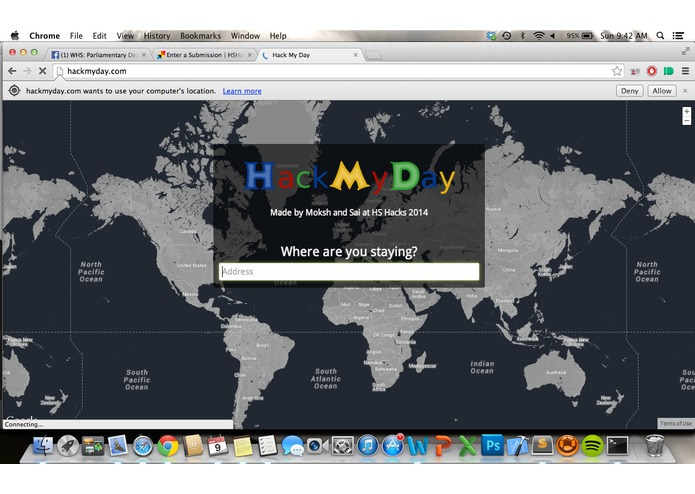 HackMyDay – screenshot 1