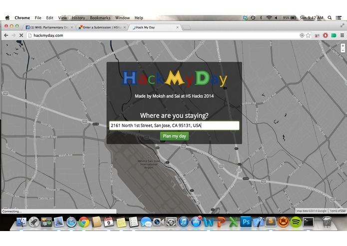 HackMyDay – screenshot 2