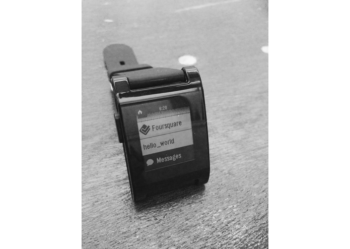 Pebble Messaging Service – screenshot 1