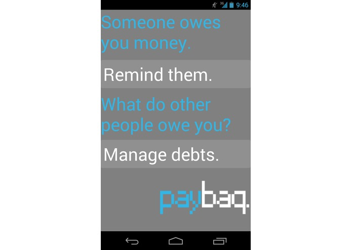 Paybaq – screenshot 2