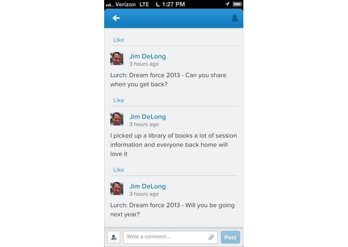 Serious Bots - Chat Bots for Salesforce1 Chatter® – screenshot 3