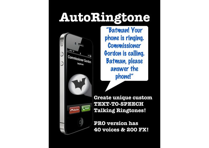 AutoRingtone: Talking Caller ID – screenshot 1