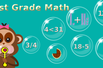 First Grade Kids Math