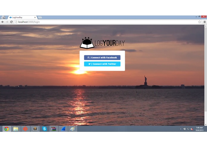 LogYourDay – screenshot 1