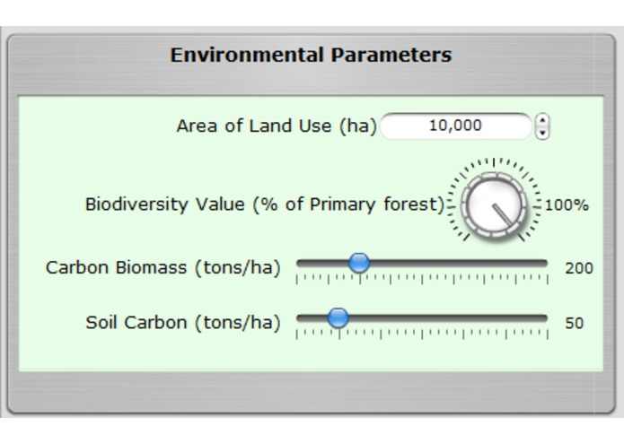 Land Use Calculator – screenshot 2
