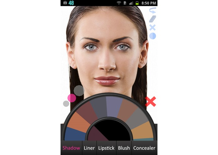 Makeup Paint – screenshot 1