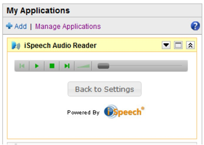 iSpeech Audio Reader – screenshot 4