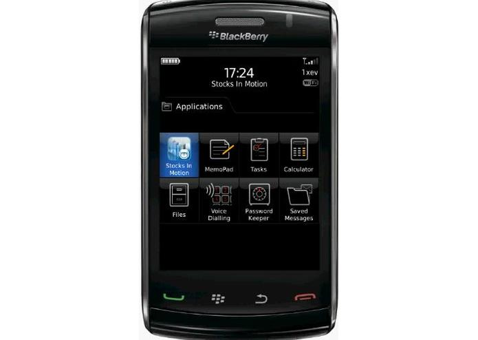 StocksInMotion for BlackBerry – screenshot 1