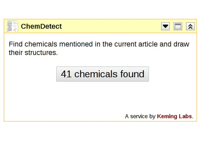 ChemDetect – screenshot 2