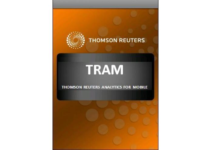 TRAM - THOMSON REUTERS ANALYTICS FOR MOBILE – screenshot 1
