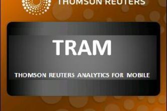 TRAM - THOMSON REUTERS ANALYTICS FOR MOBILE