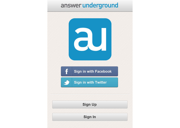 Answer Underground – screenshot 1