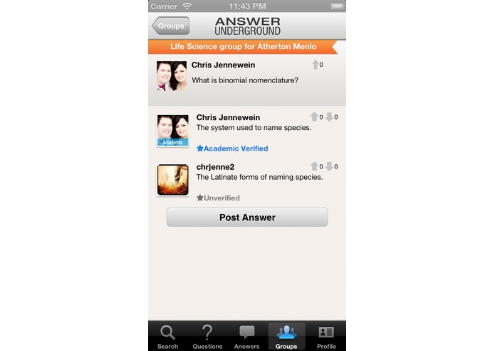 Answer Underground – screenshot 5