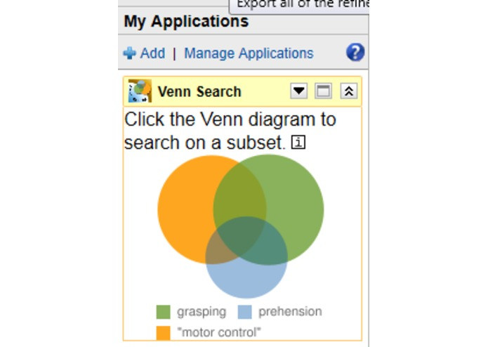 Venn Search – screenshot 2