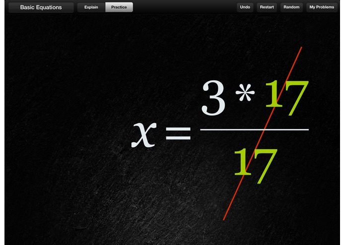 Algebra Touch – screenshot 2