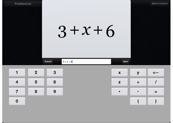 Algebra Touch – screenshot 4
