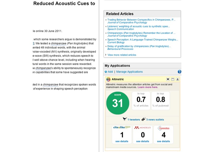 Altmetric – screenshot 4