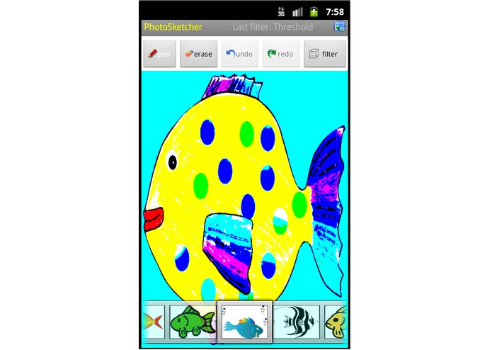 PhotoSketcher – screenshot 2