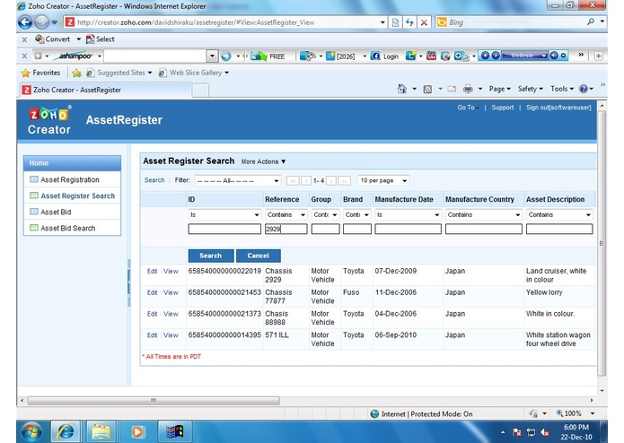 Bribery Monitor – screenshot 2