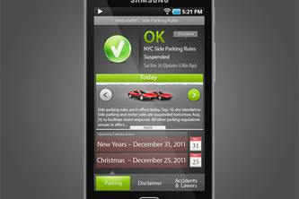 SKY7 NYC Parking Rules App