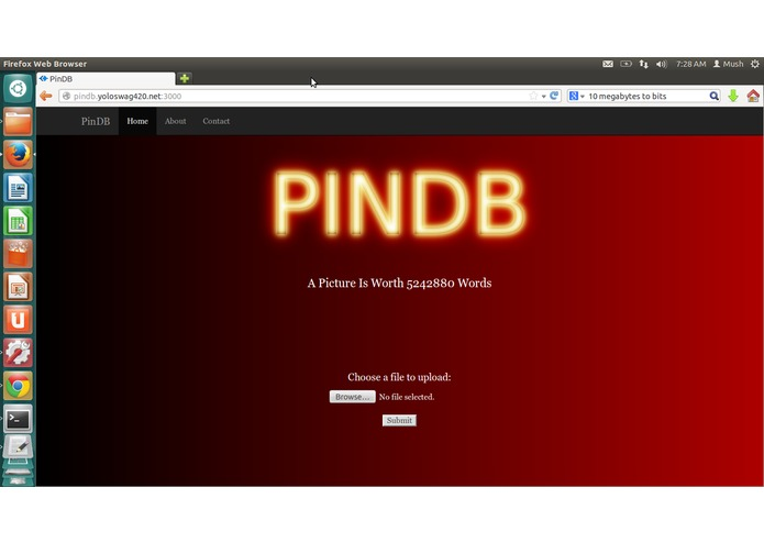 PinDB – screenshot 1
