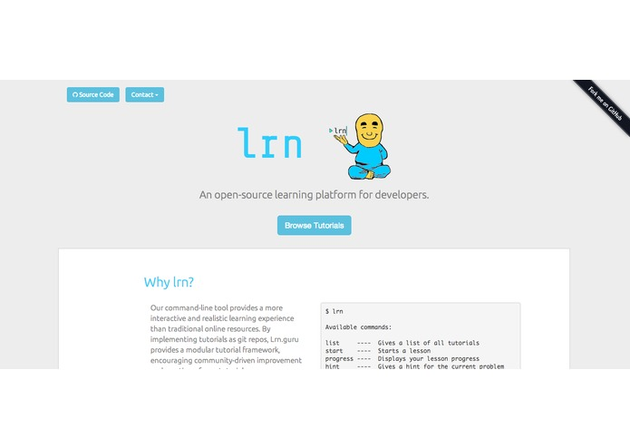 Lrn.guru – screenshot 1
