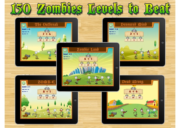 Aaah!  Math Zombies – screenshot 1