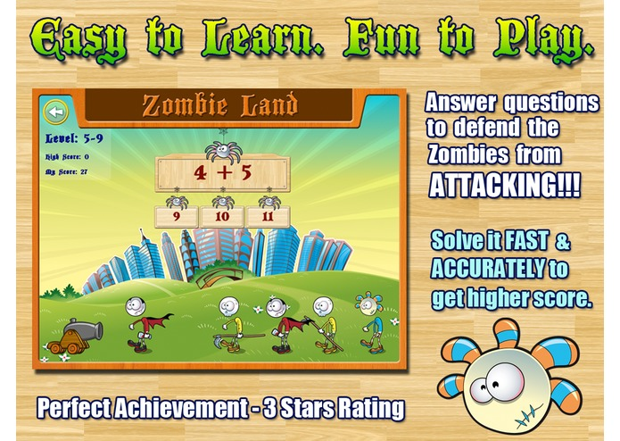 Aaah!  Math Zombies – screenshot 2
