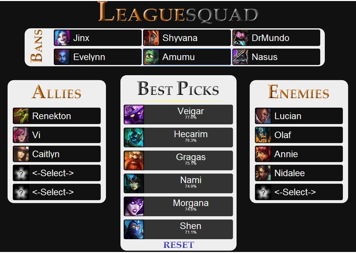 Leaguesquad – screenshot 4