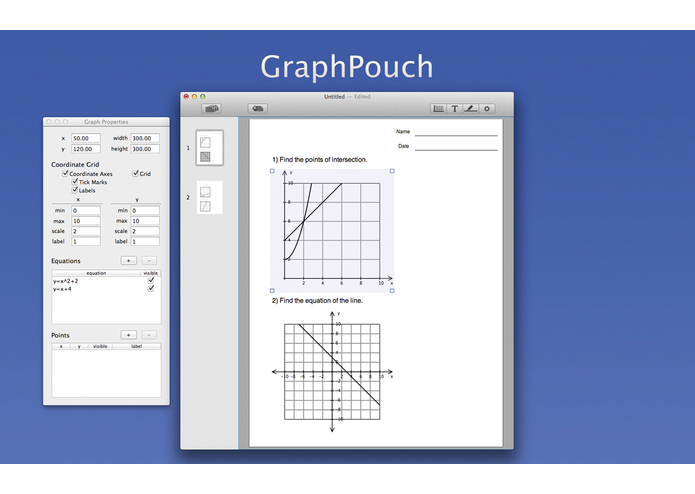GraphPouch – screenshot 1