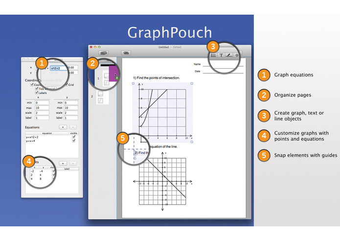 GraphPouch – screenshot 3