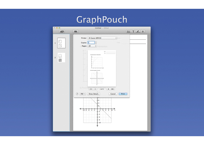 GraphPouch – screenshot 4